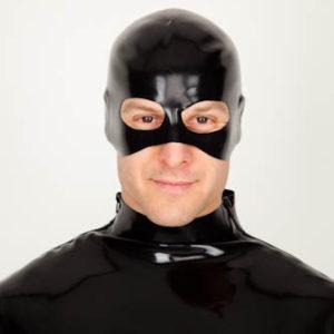 Latexová maska kata