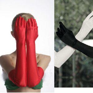 Dlhe elasticke rukavice